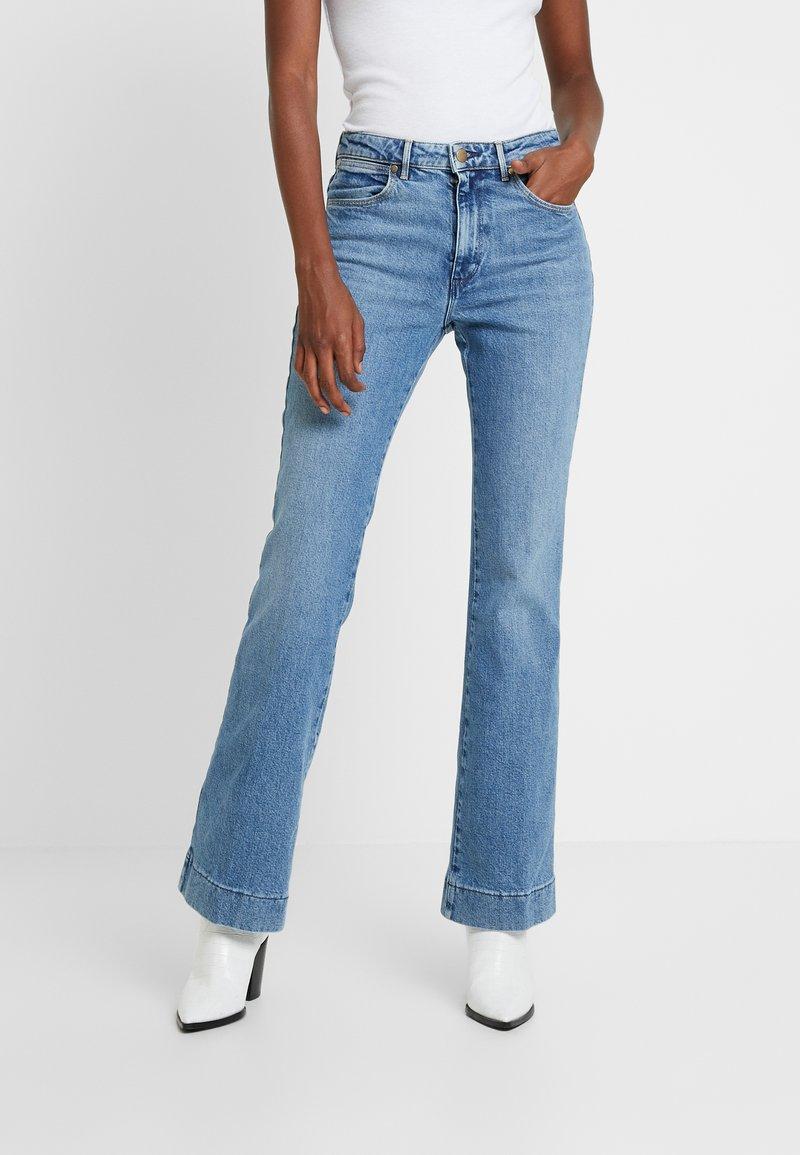 Wrangler - Flared Jeans - blue noise