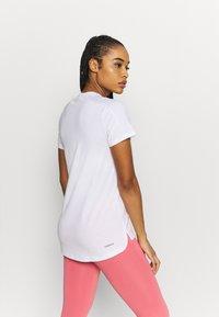 adidas Performance - Basic T-shirt - white/black - 2