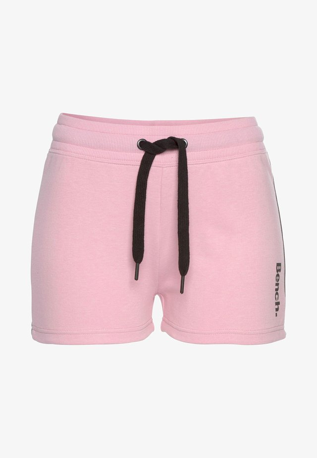 Shorts - rosa-schwarz