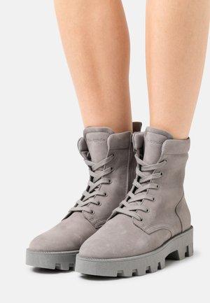 PILAR  - Platform ankle boots - grey