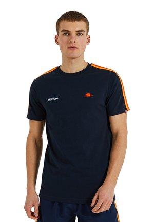 LA VERSA - T-shirt imprimé - blau