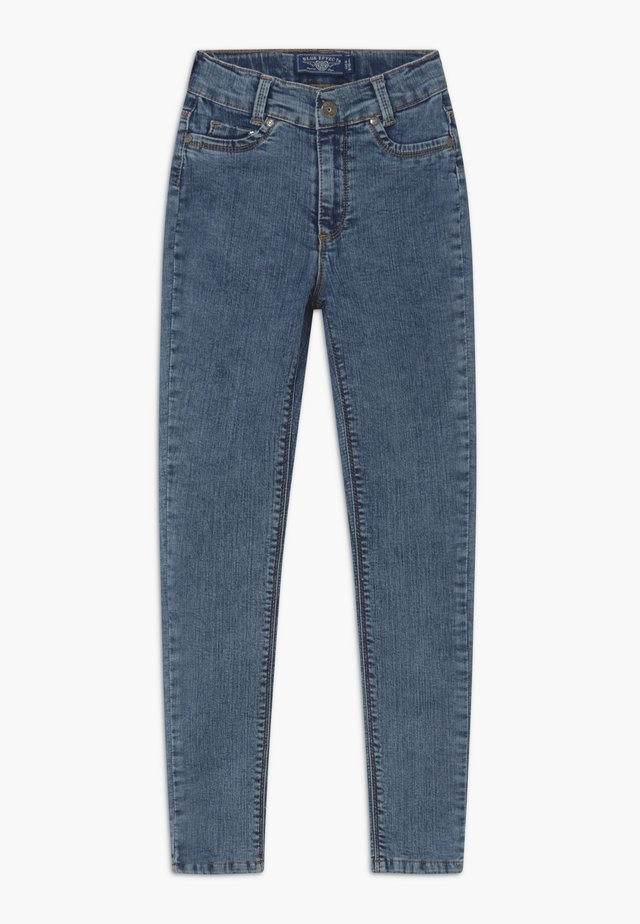 GIRLS HIGH-WAIST - Jeans Skinny Fit - moon blue