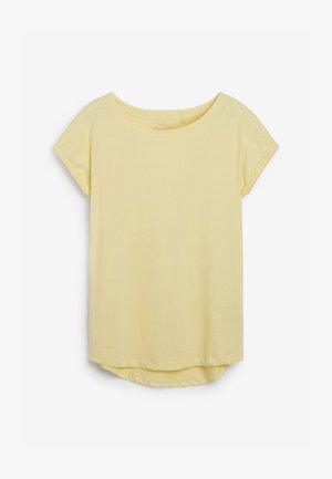 Basic T-shirt - dark yellow