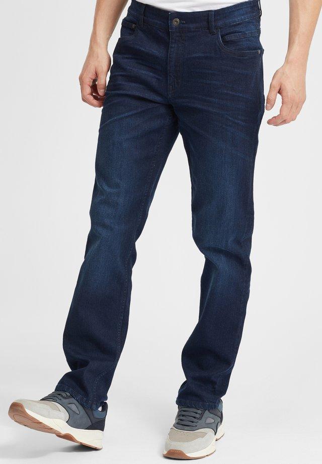 FINLAY - Jeans a sigaretta - dark blue denim