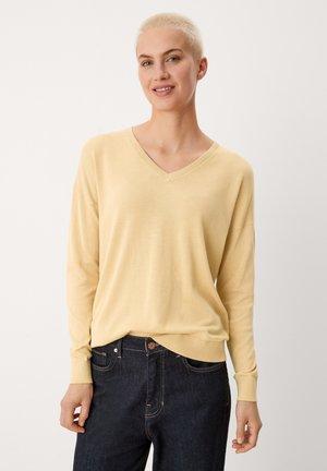 Jumper - buttercup yellow