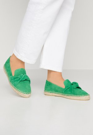 SLIP-ON - Espadrilles - green
