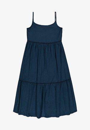 Day dress - petrol blue