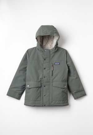 BOYS INFURNO JACKET - Vinterjakke - industrial green/coriander brown