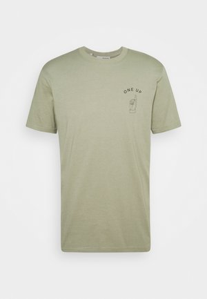 SLHCARTER O NECK TEE - Print T-shirt - tea