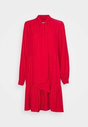 LADIES WOVEN DRESS - Vestito elegante - red