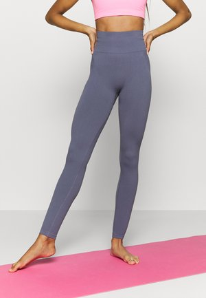 LIFESTYLE SEAMLESS - Leggings - storm blue