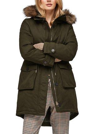 MIT DOPPELKAPUZE - Winter coat - khaki