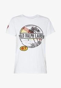 Polo Ralph Lauren - SHORT SLEEVE - Triko spotiskem - white - 4