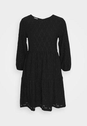VISOLARA 3/4 SLEEVE DRESS - Day dress - black