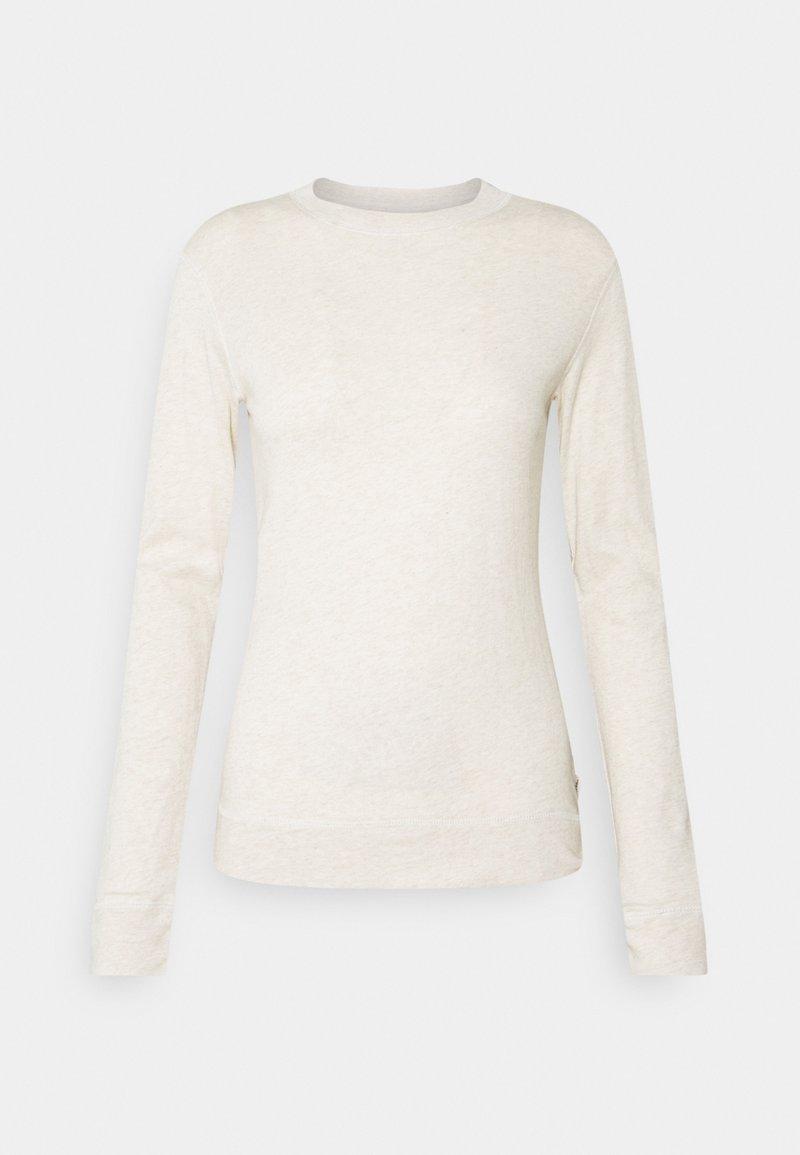 Marc O'Polo DENIM - Long sleeved top - beige melange