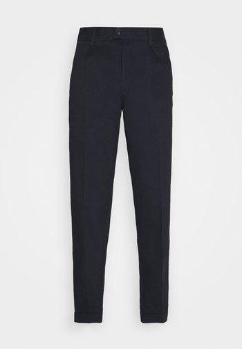 JJIBILL JJBRAD CROPPED - Kalhoty - navy blazer