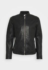 Gipsy - BENNET - Leather jacket - black - 6