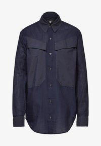 G-Star - REGULAR CARGO RIB LONG SLEEVE - Button-down blouse - rinsed - 4