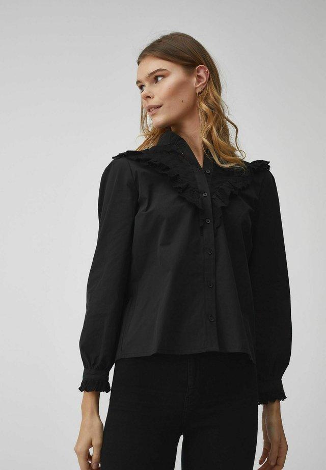 KATJA - Overhemdblouse - black