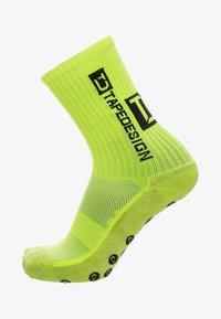 TapeDesign - ALLROUND CLASSIC SOCKEN - Sports socks - neon yellow - 0