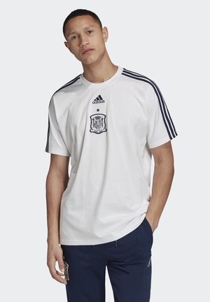 SPAIN SEASONAL SPECIAL T-SHIRT - National team wear - white