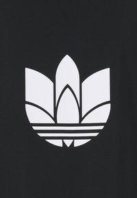 adidas Originals - 3D TREFOIL  - Lehká bunda - black/white - 2