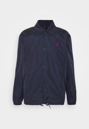 PLAINWEAVE COACHS JACKET - Summer jacket - aviator navy