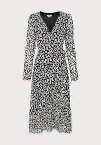 Fabienne Chapot - NATASJA FRILL DRESS - Day dress - black/emerald - 3