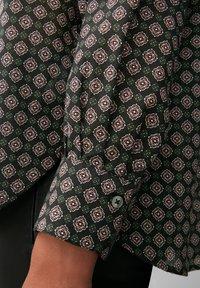 Marc O'Polo - VOILE - Button-down blouse - black, black - 3