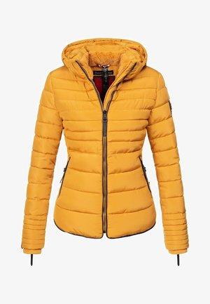 AMBER - Winter jacket - yellow