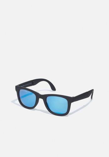 FOLDABLE SUNGLASSES WITH CASE UNISEX - Sunglasses - black