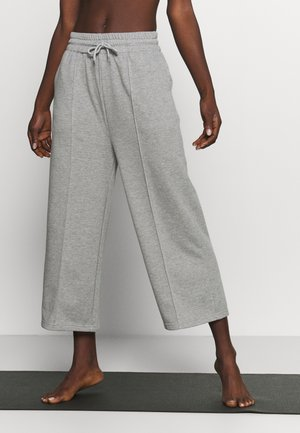 CROPPED CITY PANT - Joggebukse - grey