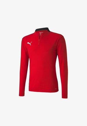 Sweatshirt - red-black