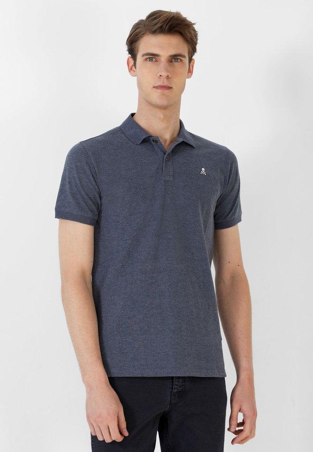 MELANGE - Poloshirt - navy