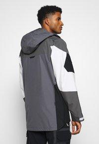 Burton - BANSHY CASTLEROCK  - Snowboard jacket - castlerock/multi - 2