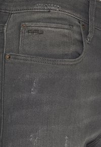 G-Star - 3301 SLIM - Slim fit jeans - dark aged - 2