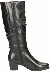 Caprice - Vysoká obuv - black nappa - 5