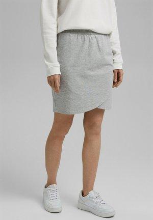 Wrap skirt - light grey