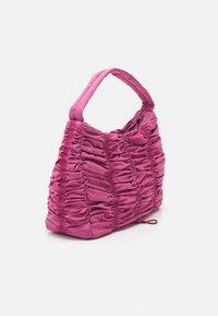 Topshop - RUCHED DRAWSRTING SHOUDLER - Handbag - rasberry - 1