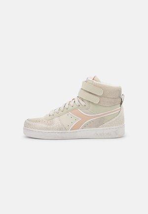 MAGIC BASKET MID ICONA - Sneakers hoog - beige alabaster