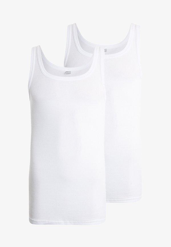 Ceceba CITYLINE 2 PACK - Podkoszulki - white/biały Odzież Męska PWSV