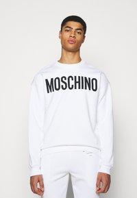 MOSCHINO - Sweatshirt - white - 0