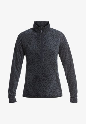 CASCADE - Fleece jumper - true black zebra print