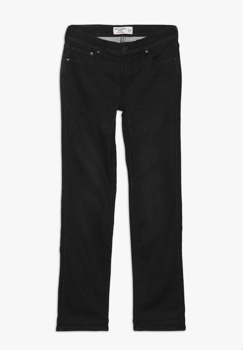 Abercrombie & Fitch - SKINNY - Slim fit jeans - black