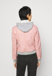 Gipsy - MOXI LULV - Leather jacket - rose - 2