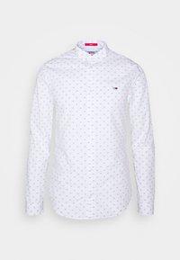 Tommy Jeans - DOBBY SHIRT - Overhemd - white/multi - 0