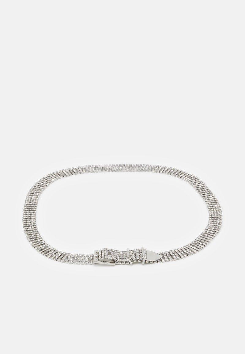 The Kooples - CEINTURE - Tailleriem - silver-coloured