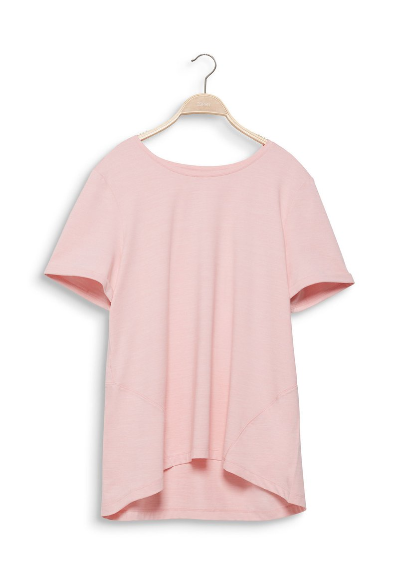 Esprit Sports - MACHE - Basic T-shirt - light pink