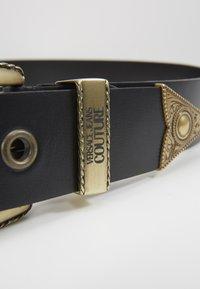 Versace Jeans Couture - BUCKLE - Riem - black - 2