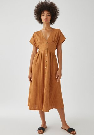 TEXTUR - Day dress - light brown